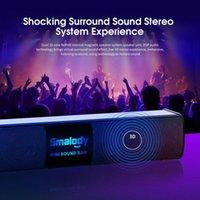 Mini altavoces Smalody Smalody Wireless Bluetooth Bluetooth LCD Pantalla LCD Barra de sonido 3D Estéreo Manos libres con Mic Altavoz