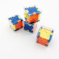 Интеллект игрушки 3D мини скорость лабиринт волшебный кубик головоломки игра лабиринт прокатный мяч мозг обучение баланс образовательные игрушки для детей взрослый