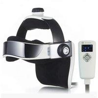Portable Household Automatic Air Pressure Head Massage Machine Blood Circulation Helmet Dual Vibrating Electric Acupressure Beauty salon Equipment