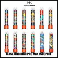 Matsking High Pro DisaPosable Cigarettes Vape Pen Price 1500 Puffs 4.5 мл 5% Емкость Бесплатная 850 мАч Батарея 13 Цвет против Gunnpod Dual-X Max Bang XXL Air Bar Max Puff Plus