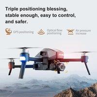 Drones 2021 M1 Pro Drone HD Mecânica Mecânica de 2 eixos Câmera Gimbal 4K 1.6km Distância 5G WiFi GPS Sistema Suporta cartão TF