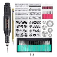 Professiona Electric Drills 70Pcs Mini Engraver Etching Pen DIY Rotary Engraving Tool For Jewelry