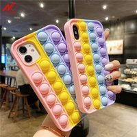 For Iphone Xr Bubble Case For Iphone 12 11 13 Pro Max Mini 7 8 Xs Xr Se Cover Reliver stress Fidget Toys Push Bubble Antistress_01