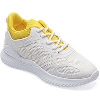 Fashion Lady Casual Women Size 100% Lace-up Sneaker Woman New Breathable Reticular 40-41 Sneakers Bottom Gym Thick Large Men Shoes Us4- Mdko