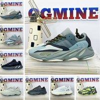 Fashion Kanye Mens Shoe V1 V2 Eremiel Vanta 700 Sun Static Men Womens Runner 700s West MNVN Sports Designer أحذية ألعاب القوى أحذية رياضية 36-47 # A144 #