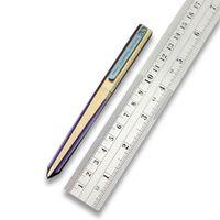 Twoun TC4 Titan-Legierung Taktische Pension-Verteidigungs-Verteidigungsbüro-Tasche Outdoor EDC-Werkzeug defektes Fensterstift TS-Pen17-Farbe
