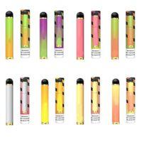 2021 PUFF FLOW Disposable E-cigarettes Vape Pen Airflow Control 4ml 1000Puffs 600mah Battery With Security code VS bar Plus XTRA