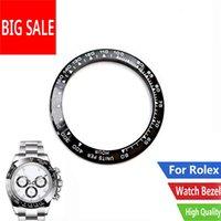 도매 최고 품질의 세라믹 블랙 화이트 쓰기 38.6mm 시계 베젤 116500 - 116520 수리 도구 키트