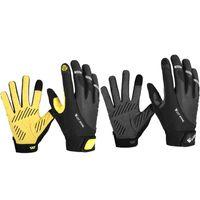 Cycling Gloves West Biking Unisex Sports Full Finger Gel Bike Touch Screen Warm Windproof MTB Road
