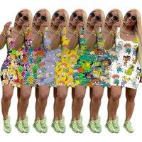 Bir Yaz Etek Elbise Mini Kadın Kolsuz Tasarımcı Parçası Elbise Yüksek Kaliteli Sıska Elbise Moda Lüks Clubwear C153 K7HT