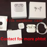Luxurys Designers Airpods Pro Wireless Headset Caso Capas à prova de choque com gancho para Airpod 1 2 3 Hight Quality 2styles