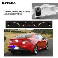 سيارة الرؤية الخلفية كاميرات وقوف السيارات مجسات كاميرا لكيا سيراتو كوبيه 2008 ~ 2021 ديناميكي مسار القيادة مسار وظيفة مرآة مسجل HD CC