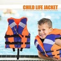 Детская Животная куртка Дети Плавательный Жилет с свистком Светоотражающие полосы Безопасность Водный Спортивный Буй