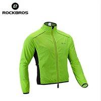RockBros Велоспорт Куртка для велосипеда Мужская езда Дышащая отражающая Джерси Цикл Одежда Одежда с длинным рукавом Ветрозащитный Быстрый сухой Шут