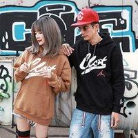 Alta Qualidade 1: 1 Homens Hoodie Marca de Moda Hip Hop Skate Chen Guanxi Voando Co Branded Plush Com Capuz Camisola Casaco De Outono