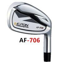Hombres Clubes de Golf EP AF-706 Irons Set de 5-9 P A Iron Club Stee Sheft o Grafite R / S Flex