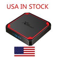 Nave da USA X96 Mini Plus Android 9.0 TV Box Amlogic S905W4 1 GB 2 GB RAM 8 GB 16 GB ROM 2.4G 5G WiFi 4K Set Top