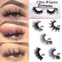 100 Pair 25mm Lashes 3D Soft 100% Mink Hair False Eyelashes Long Handmade Eye Lash Dramatic Eyelash Extension Makeup tool Kit