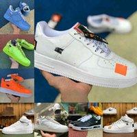 Nike Air Force 1 one airforce Shoes Vendi 2021 Beat Designer Scarpe Vintage New Outdoor Skate Sneakers Tripla Black Bianco Brown Flax Arancione Mens