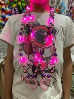 Carnival et Saint-Patrick, fête de la Saint-Valentin à LED Collier en plastique Cadeau Cade de cou