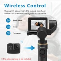 Handheld 3-Axis Action Camera Gimbal Stabilizer Anti-Shake Wireless Control Vertical Horizontal Time-lapse Shooting Stabilizers