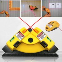 Professional Hand Tool Sets Square Laser Level Right Angle 90 Degree Vertical Line Projection Alignment Layout Measurement