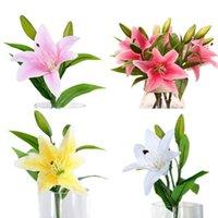 زهرة الزفاف 2021 جميلة 5 قطع مصغرة الاصطناعي كالا زنبق الزهور باقة رغوة ديكور # يونيو 28 بكل الزخرفية