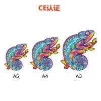 Сертификация CE A3 Chameleon Нерегулярная головоломка