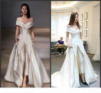 2020 New Off-shoulder Garment Evening Dresses with Jumpsuit Custom Make Vestidos Festa Women Fashion Occasion Prom Dress Zuhair murad