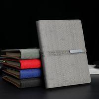 Notepads Negocio Negocio Leaf-Hoja Cuaderno Personalizado Reunión de regalo creativo Reunión Grabado Imitación Cuero PU Cumpleaños Presente Escuela
