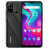 DOOGEE X96 Pro, 4GB+64GB Quad Back Cameras, 5400mAh Battery, Rear-mounted Fingerprint Identification, 6.52 inch Water-drop Screen Android 11.0