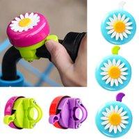 Bike Horns Flower Children Cycling Ring Alarm For Handlebars Multi-color Bicycle Bell Alarming Handlebar Decor
