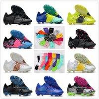 Luxury Future Z 1-1 FG men soccer cleats Shoes Bluemazing deep blue volt white multi Yellow Alert Sunblaze xilver mens designer football sneakers boots
