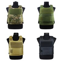 Hunting Tactical Body Armor Molle Plate Carrier Vest Outdoor CS Game Paintball Military Equipment Gadgets