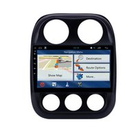 GPS 자동차 DVD 라디오 스테레오 안드로이드 10.1 인치 MP5 플레이어 2010-2016 지프 나침반 미러 링크 와이파이 USB