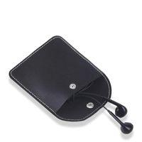 Organizador de almacenamiento de auriculares portátiles Earbudos de la caja de la bolsa de la bolsa de las fábricas de auriculares duras Cubierta de la cubierta del protector Bolsa de cable USB