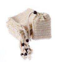 Sac à savon Faire des bulles économiseur d'économiseur de sacs de stockage Sacs à cordon de cordon de coton de coton de coton de coton nettoyage support de baignoire 526 R2