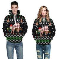 Women's Hoodies & Sweatshirts Mens Womens Long Sleeve Autumn Winter Christmas Plus Size 3D Printed Loose Male Vintage Clothing