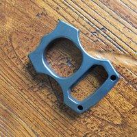 EDC Gear Brass Knuckles Keychain Pendants Bottle Opener Outdoor Multifunction Rings self-defense Broken window Tools Factory Direct Sales ZH21