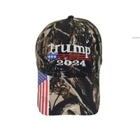 Président Donald Trump 2024 Chapeau de baseball Camouflage Ballon Ballon Ballon Femmes Designers Snaperback US Drapeau Maga Anti-Biden Visière d'été NHA5032