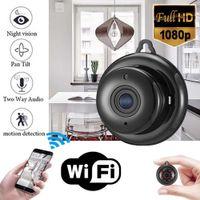 V380 WiFi piccola fotocamera a infrarossi a infrarossi 1080p mini telecamere IP wireless Piano esclusivo Vision notturno P2P CCTV Camcorder Motion Detect Home Security Dual Audio