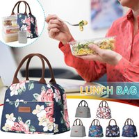 Storage Bags Insulated Lunch Bag Tote For Women Portable Cooler Office Work School Picnic With Adjustable Shoulder Strap