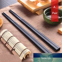 A Pair Chopsticks Non-Slip Reusable Health Without Lacquer Plastic Japanese Sushi Dinnerware Dumplings Food Sticks Chopsticks
