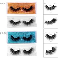 Thick Curly Natural 3D False Eyelashes Multilayer Soft & Vivid Reusable Hand Made Mink Fake Lashes Makeup Accessory For Eyes Easy To Wear 15 Models DHL