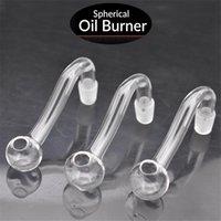 Top Quality Glass Oil Burner Tube 10mm 14mm 18mm feminino masculino mais barato pyrex pyrex óleo unha tubulações com todos os acessórios para fumar 5 pcs