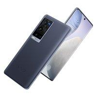 Original vivo x60 pro + plus 5g Handy 12 GB RAM 256GB ROM Snapdragon 888 50.0mp 4200mAh Android 6,56 Zoll Amoled Vollbild-Fingerabdruck-ID Gesichts-Weck-Smart-Handy