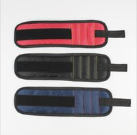 Manyetik Bileklik Cep Aracı Kemer Çanta Vidalar Tutucu Holding Araçları Manyetik Bilezikler Pratik Güçlü Chuck Bilek Araç Takım GWD10065