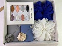 Kopftuch Zubehör Premium Heavy Chiffon Hijab Schal Malaysian Schal Benutzerdefinierte Geschenkboxen Frauen Foulard Femme Schals