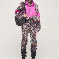 Women 21ISA MAR designer jackets pants autumn slim casual short windbreak jacket pant sport vintage trousers