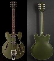 Finition satinée, guitare électrique du corps creux de jazz, Chris Cornell Audio 335 Guitare